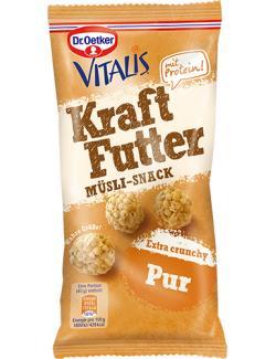 Dr. Oetker Vitalis Kraftfutter Müsli-Snack Extra crunchy pur