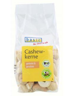 Basic Cashewkerne geröstet und gesalzen