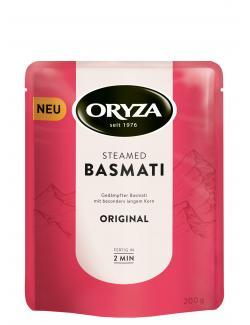 Oryza Steamed Basmati Reis Original