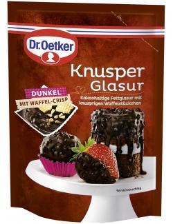 Dr. Oetker Knusper Glasur Dunkel