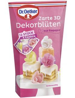 Dr. Oetker Zarte 3D Dekorblüten