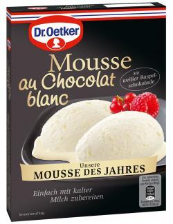 Dr. Oetker Mousse au Chocolat blanc