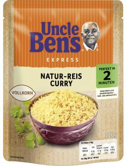 Uncle Ben's Natur-Reis Curry Vollkorn
