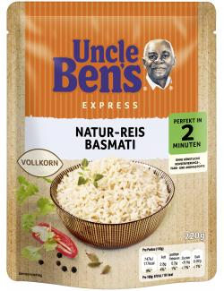 Uncle Ben's Natur-Reis Basmati Vollkorn