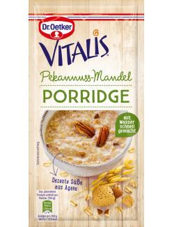 Dr. Oetker Vitalis Porridge Pekannuss-Mandel