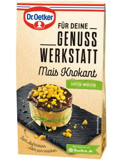 Dr. Oetker Genuss Werkstatt Mais Krokant