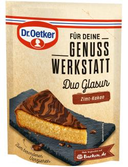 Dr. Oetker Genuss Werkstatt Duo Glasur Zimt-Kakao