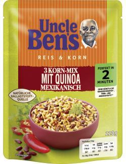 Uncle Ben's Reis & Kron 3 Korn-Mix mit Quinoa Mexikanisch