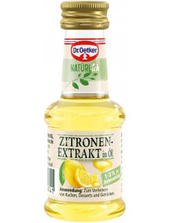 Dr. Oetker Natürlich Zitronenextrakt
