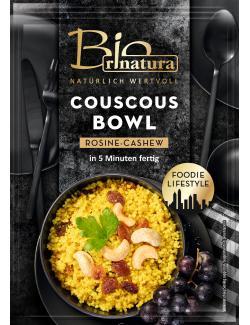 Rinatura Bio Foodie Lifestyle CousCous Bowl Rosine-Cashew