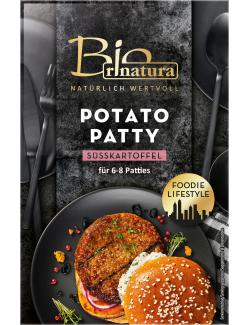 Rinatura Bio Foodie Lifestlye Potato Patty Süßkartoffel