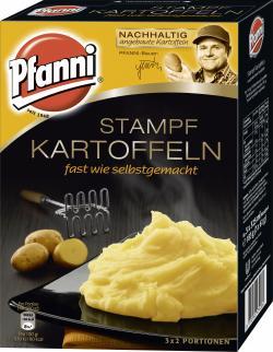 Pfanni Stampfkartoffeln