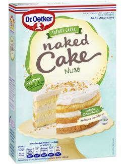 Dr. Oetker Naked Cake Nuss