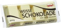 Wawi Kuvertüre weisse Schokolade