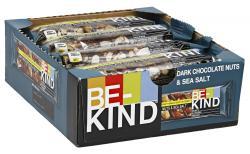 Be-Kind Riegel Dark Chocolate Nuts & SeaSalt