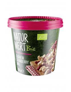 NaturWert Bio Cashew Cranberry Mix