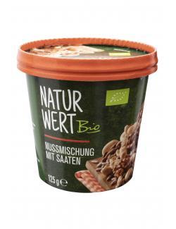NaturWert Bio Nusskernmischung mit Saaten