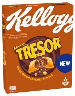 Kellogg's Tresor Choco, Caramel & Peanut Flavour