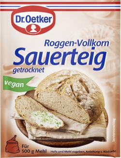 Dr. Oetker Roggen-Vollkorn Sauerteig getrocknet