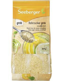 Seeberger Rohrzucker unraffiniert grob