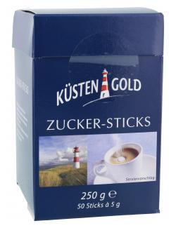 Küstengold Zucker-Sticks