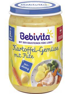Bebivita Menü Kartoffel-Gemüse mit Pute (220 g) - 4018852001447