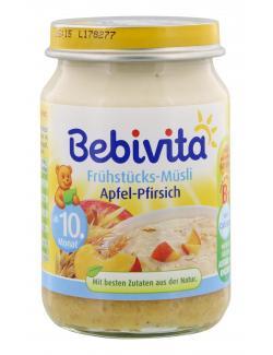 Bebivita Frühstücks Müsli Apfel-Pfirsich (160 g) - 4018852008125