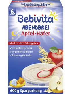 Bebivita Abendbrei Apfel-Hafer ab dem 6. Monat