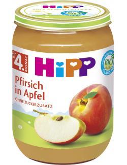 Hipp Pfirsich in Apfel
