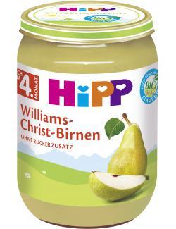 Hipp Williams-Christ-Birnen (190 g) - 4062300027916