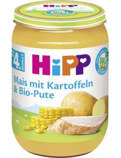 Hipp Mais mit Kartoffelpüree und Bio Pute