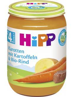 Hipp Karotten mit Kartoffeln & Bio Rind