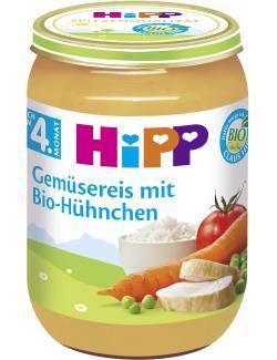 Hipp Gemüsereis mit Bio Hühnchen