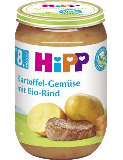 Hipp Kartoffel-Gemüse mit Bio-Rind (220 g) - 4062300032811