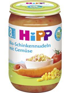 Hipp Bio Schinkennudeln mit Gemüse (220 g) - 4062300033412