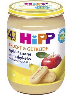 Hipp Frucht & Getreide Apfel-Banane mit Babykeks