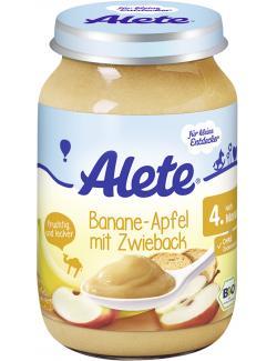 Alete Banane & Apfel mit Zwieback