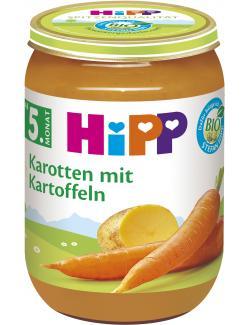 Hipp Früh-Karotten mit Kartoffeln (190 g) - 4062300021112
