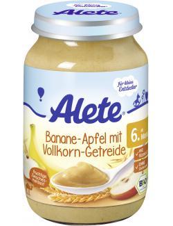 Alete Banane-Apfel mit Vollkorn-Getreide
