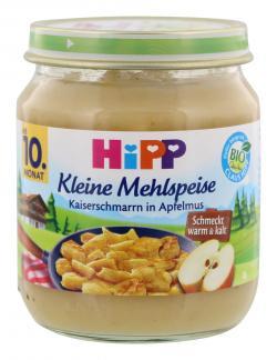 Hipp Kleine Mehlspeise Kaiserschmarrn in Apfelmus (200 g) - 4062300035119