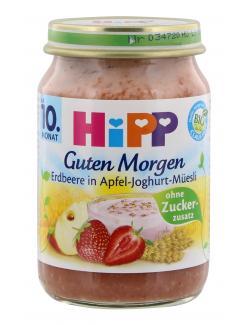 Hipp Guten Morgen Erdbeere-Joghurt-Müesli (160 g) - 4062300036185