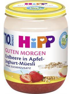 Hipp Guten Morgen Erdbeere in Apfel-Joghurt-Müesli
