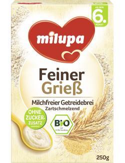 Milupa Bio-Grieß Getreidebrei (250 g) - 4008976050100
