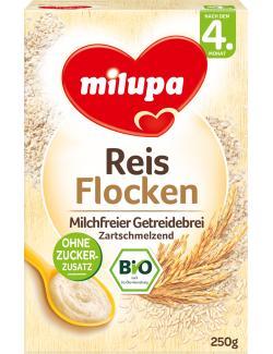 Milupa Bio Reisflocken Milchfreier Getreidebrei (250 g) - 4008976040170