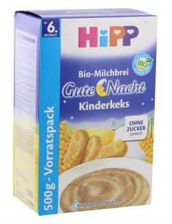 Hipp Bio Milchbrei Gute Nacht Kinderkeks (500 g) - 4062300060593