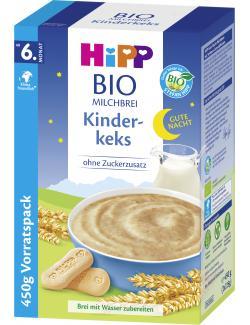 Hipp Bio Milchbrei Gute Nacht Kinderkeks