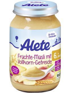 Alete Früchte-Müsli mit Vollkorn-Getreide (190 g) - 4251099602408
