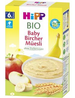 Hipp Bio Getreidebrei Guten Morgen Bircher Müesli