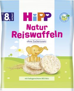 Hipp Kinder Reiswaffeln