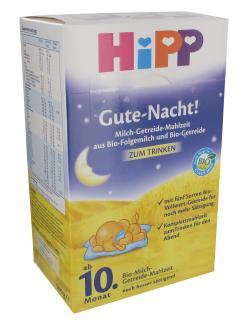 Hipp Gute Nacht Bio-Milch-Getreide-Mahlzeit (500 g) - 4062300119840